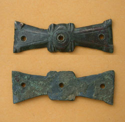 Belt Mount, Propellor-type, ca. 4th Cent. AD, Spectacular!